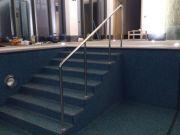 Поручень для бассейна из нержавеющей стали AISI 304 d - 38 mm.