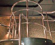 Гибка поручня по радиусу. Изготовление лестницы – труба 38 х 2 мм.